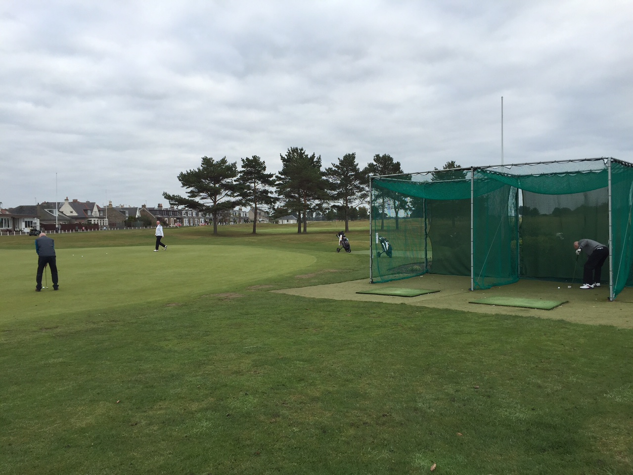 practice facilities at Monifieth